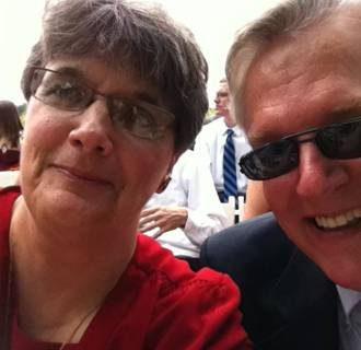 Image: Luanne and Bob Becker of Cleveland