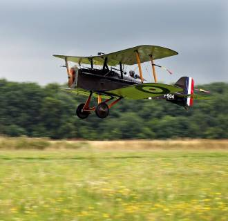 Image: Historic World War I Aircraft Are Displayed At The Shuttleworth Collection