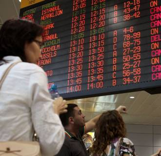 Israel flights canceled