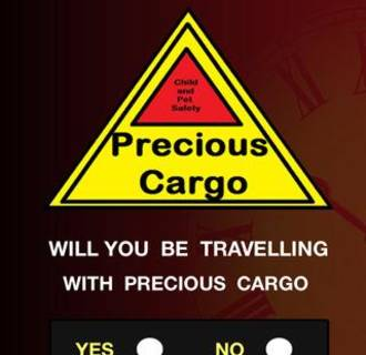 Image:  A screenshot from the Precious Cargo app.