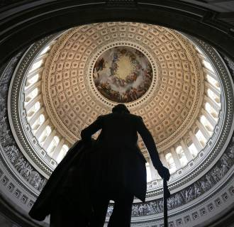 Image: Congress Struggles With Funding Repairs To U.S. Capitol Dome