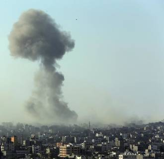 Image: Israeli strike in Gaza City