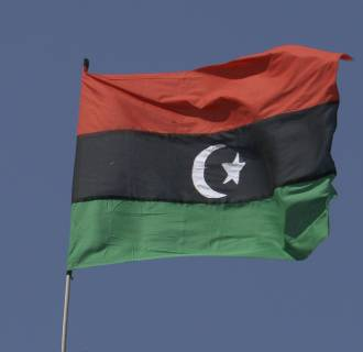 Libya's national flag
