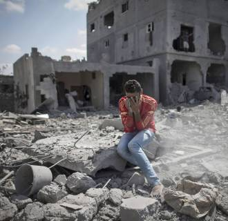 Image: Destruction in Gaza Strip