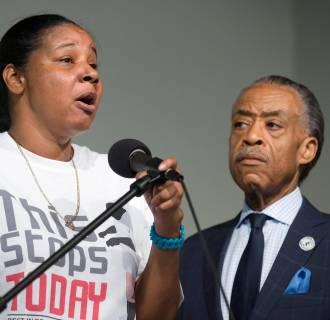 Image: Esaw Garner, Al Sharpton