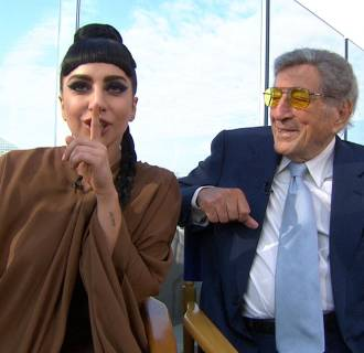 Image: Lady Gaga and Tony Bennet