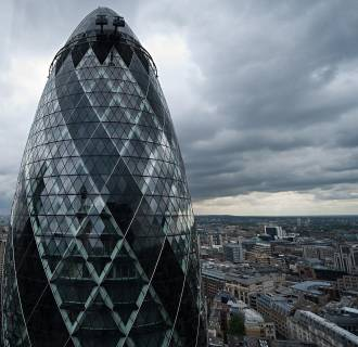 The Gherkin  - one of London's landmark office buildings, is up for sale for around $1.1 billion.
