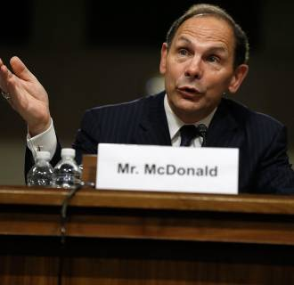 Image: Confirmation Hearing Held For Robert McDonald, Nominee To Head Veteran's Affairs Department