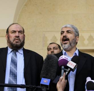 Image: Hamas chief Khaled Meshaal