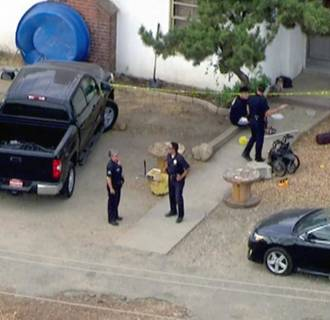 Image: A 3-year-old boy died Wednesday after becoming trapped in a hot car in Sylmar, Calif., police said.