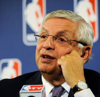 Image: Former NBA Commissioner David Stern