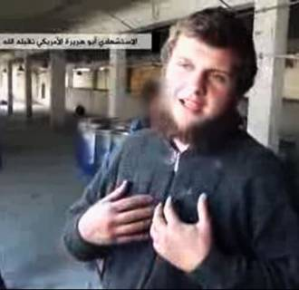 Image: A young US suicide bomber from Florida who blew himself up at an army post in the northwest of Syria