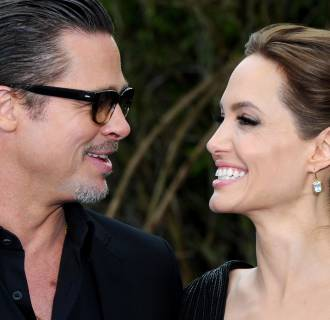 Image: Brad Pitt and Angelina Jolie