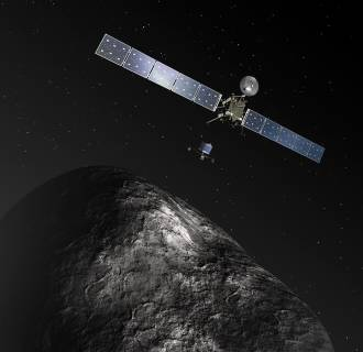 Image: Rosetta and Philae