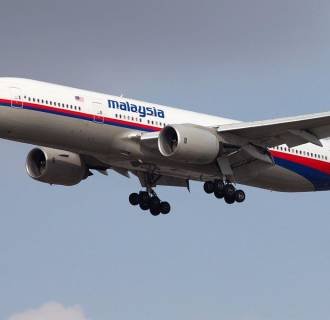 Image: The Malaysian Airlines Boeing 777 that disappeared on a flight from Kuala Lumpur, Malaysia, to Beijing, China.