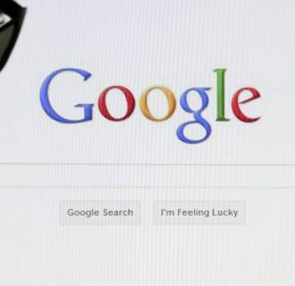 Image: Google search page