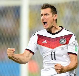 Image: Miroslav Klose on June 21