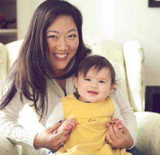 Image: Christine Hyung-Oak Lee and her daughter, Penelope