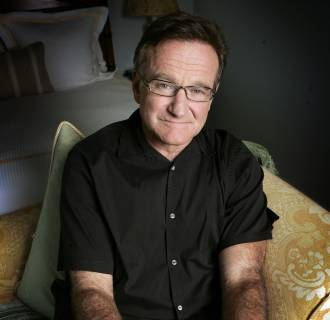 Image: Actor and comedian Robin Williams