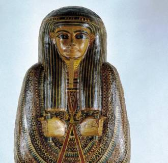 Image: Mummy coffin