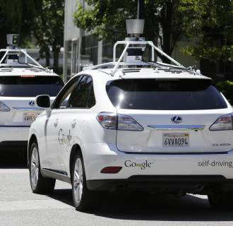 In a quarter century, the roads will be filled with self-driving cars like these.