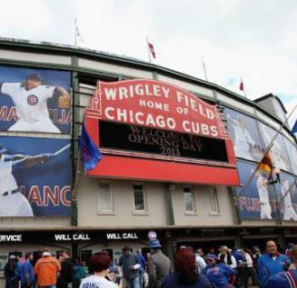 Image: Wrigley Field in Chicago