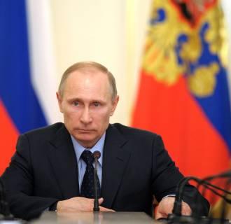 Image: Russia's President Vladimir Putin