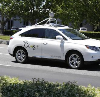 Image: Google self-driving car