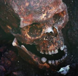 Image: Discovery of possible remains of King Richard III