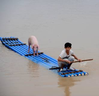 Image: CHINA-FLOOD