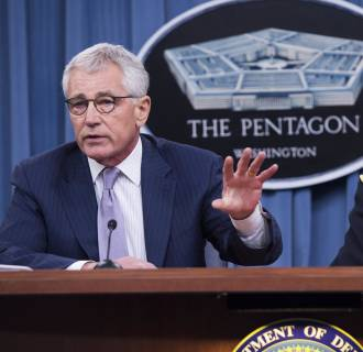 Image: U.S. Secretary of Defense Chuck Hagel