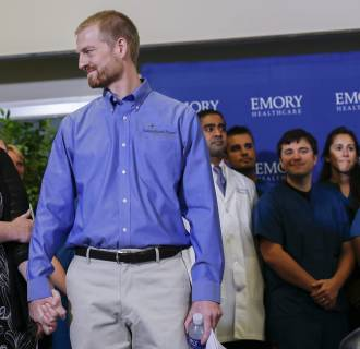 Image: Ebola virus survivor Dr. Kent Brantly