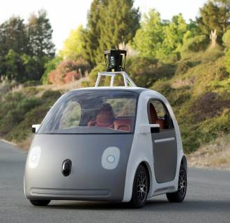 Image: Google self-driving car prototype
