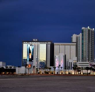 Image: SLS Las Vegas opens Aug. 23, 2014, after a $415 million renovation of the legendary Sahara Hotel & Casino in Las Vegas.