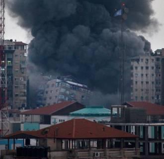 Image: PALESTINIAN-ISRAEL-CONFLICT-GAZA
