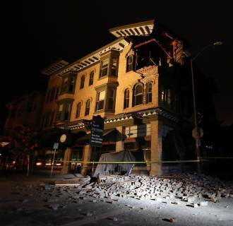 Image: 6.0 Earthquake Rattles Northern California