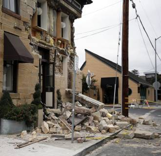 Image: Napa California Earthquake