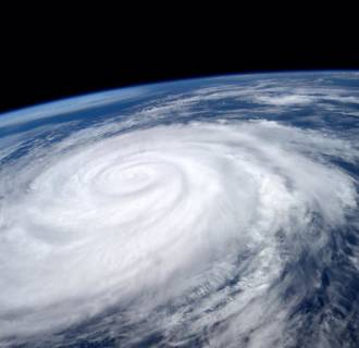 Image: Hurricane Marie is seen from the International Space Station.