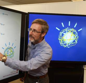 Image: Scott Spangler, principal data scientist, IBM Watson Innovations