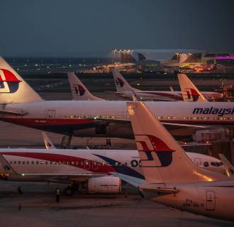 Image: MALAYSIA-UKRAINE-RUSSIA-AVIATION-ACCIDENT