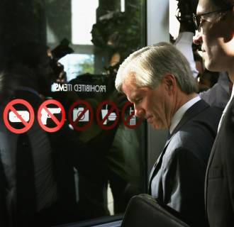 Image: Corruption Trial Of Former Virginia Governor McDonnell And His Wife Continues In Richmond