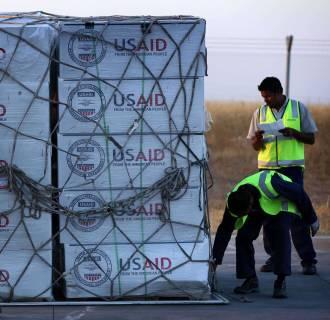 Image: IRAQ-CONFLICT-AID