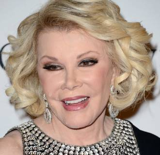 Image: FILE: Comedian Joan Rivers Dies At 81
