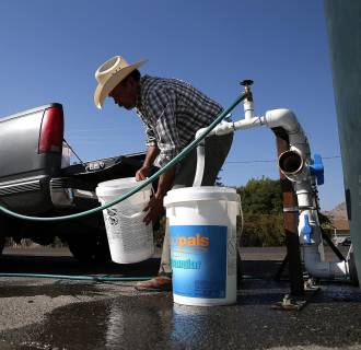 Drought Dries Up Some Residential Tap Water Wells In California's San Joaquin Valley