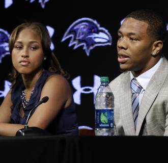 Image: Ray Rice, Janay Rice