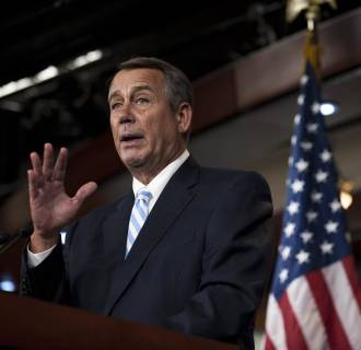 Image: Boehner Defends Lawsuit Against President Obama