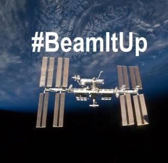 Image: #BeamItUp