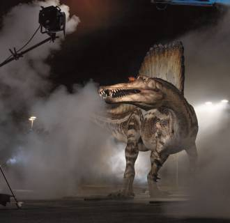 Image: Spinosaurus replica