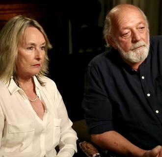 Barry and June, parents of Reeva Steenkamp
