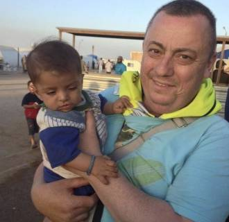 Image: An undated family handout photo of British aid worker Alan Henning